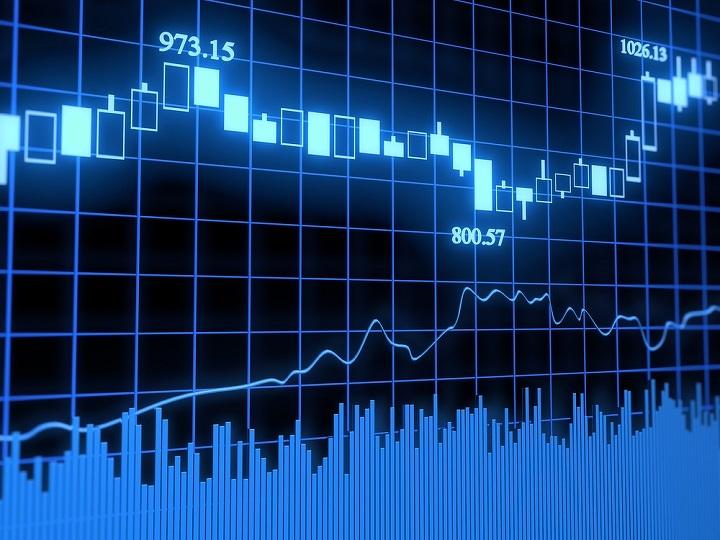 биржевой график картинка