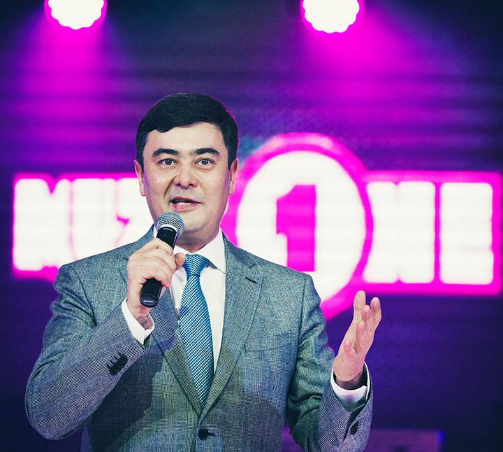 Создатель телеканала MuzzOne Арманжан Байтасов.