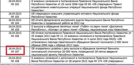 Приключения постановления Нацбанка №107 — Финансы/Маркетинг ...