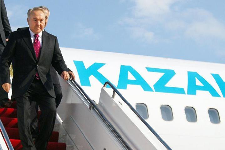 Назарбаев прибыл с национальным визитом вРеспублику Узбекистан