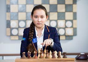 Жансая Абдумалик стала лучшей шахматисткой планеты в возрасте до 20 лет