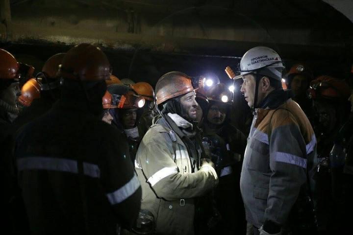 Забастовка шахтеров вКазахстане завершена