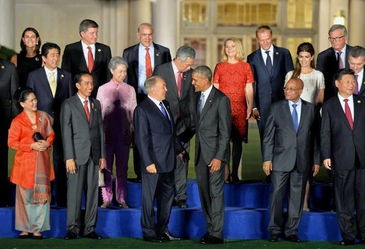 Путин иОбама обсудили Украинское государство насаммите G20