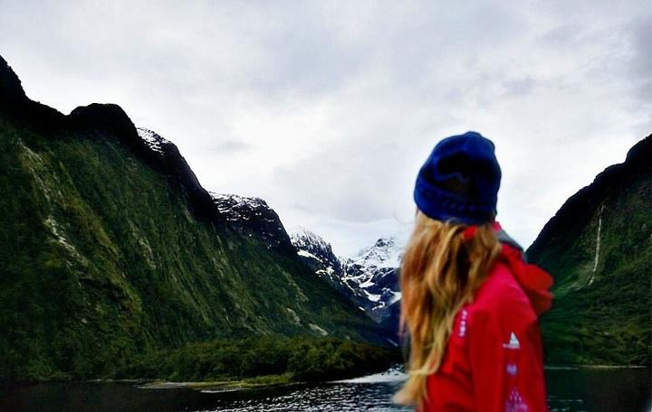 Exploring New Zealand. (Photo courtesy of Cassie De Pecol)