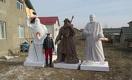 Ханы и батыры из пенопласта идут по цене от $700 до $1500