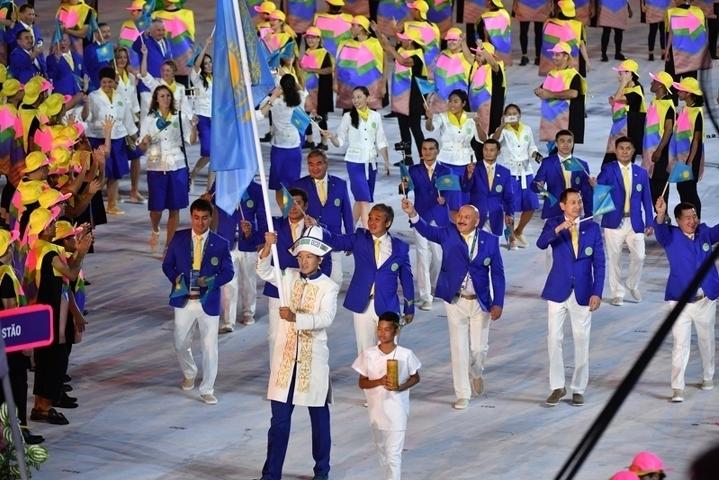 Сборная Казахстана поднялась на11-е место вобщем медальном зачете Олимпиады