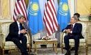 Назарбаев встретился с главой госдепа США Джоном Керри