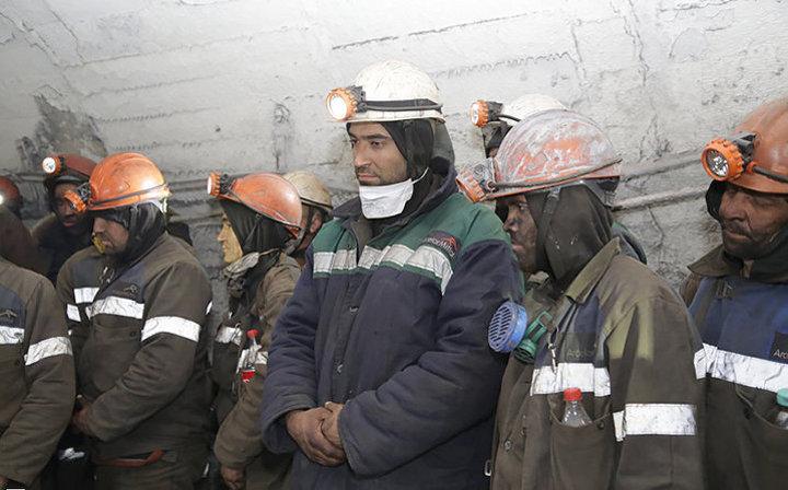 ВКазахстане горняки закончили забастовку иподнялись изшахты
