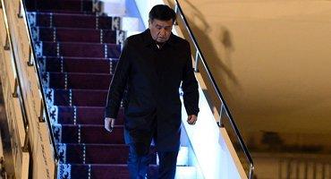 Президента Кыргызстана заметили в эконом-классе регулярных авиалиний