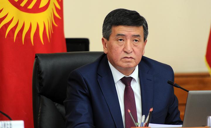 Сооронбай Жээнбеков вступил вдолжность президента Киргизии