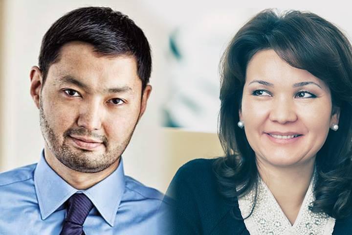 Кенес Ракишев и Умут Шаяхметова.