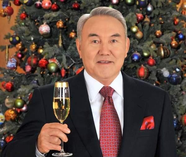 Как президент отмечает новый год