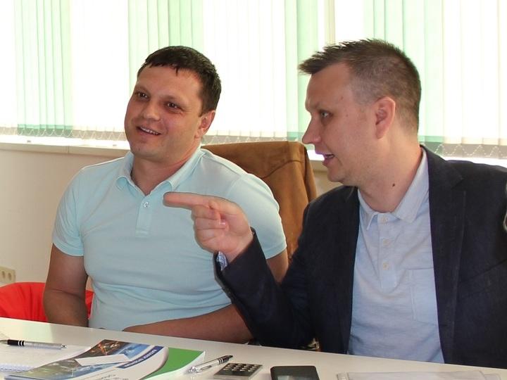Андрей Зырянов и Денис Федоров.