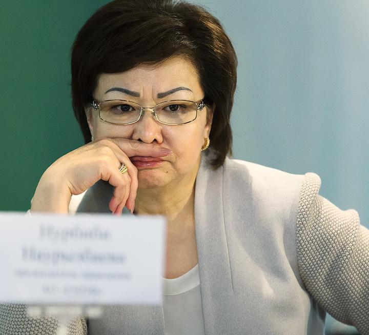 Нурбиби Наурызбаева.