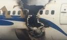В аэропорту Актау загорелся самолет SCAT (видео)