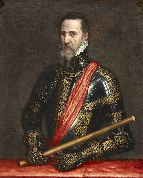 Фернандо Альварес де Толедо и Пиментель, известный как Великий герцог Альба и Железный герцог. Портрет художника Антониса Мора