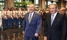 Нурсултан Назарбаев встретился с Раулем Кастро на Кубе