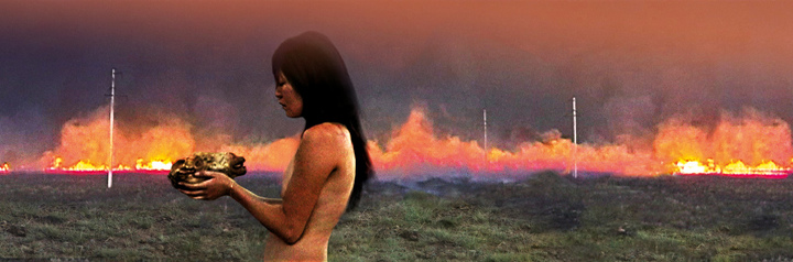 Фото: As The Oil Burns/Almagul Menlibayeva courtesy American Eurasian Art Advisors LLC
