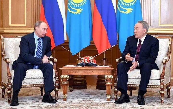 Назарбаев: Казахстан будет самым близким партнером РФ