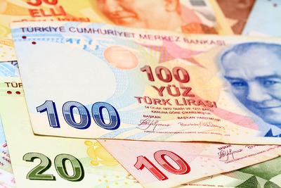 Турецкая лира скатилась донового исторического рекорда