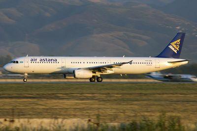 Птица заставила Airbus A321 вернуться ваэропорт Алма-Аты