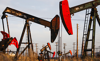 Цена нефти марки Brent подросла  до44,35 доллара забаррель